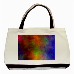 Plasma 9 Twin Sided Black Tote Bag