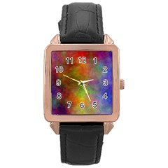 Plasma 9 Rose Gold Leather Watch
