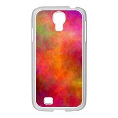 Plasma 10 Samsung GALAXY S4 I9500/ I9505 Case (White)