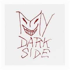 My Dark Side Typographic Design Glasses Cloth (medium, Two Sided)