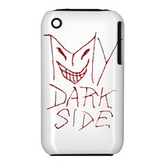 My Dark Side Typographic Design Apple iPhone 3G/3GS Hardshell Case (PC+Silicone)