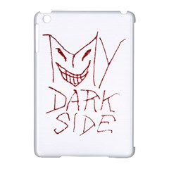 My Dark Side Typographic Design Apple Ipad Mini Hardshell Case (compatible With Smart Cover)