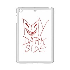 My Dark Side Typographic Design Apple Ipad Mini 2 Case (white)