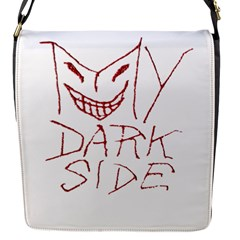 My Dark Side Typographic Design Removable Flap Cover (Small)