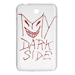 My Dark Side Typographic Design Samsung Galaxy Tab 3 (7 ) P3200 Hardshell Case