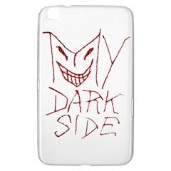 My Dark Side Typographic Design Samsung Galaxy Tab 3 (8 ) T3100 Hardshell Case