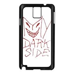 My Dark Side Typographic Design Samsung Galaxy Note 3 N9005 Case (black)
