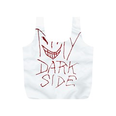 My Dark Side Typographic Design Reusable Bag (s)