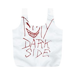 My Dark Side Typographic Design Reusable Bag (M)