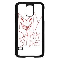 My Dark Side Typographic Design Samsung Galaxy S5 Case (black)