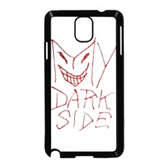 My Dark Side Typographic Design Samsung Galaxy Note 3 Neo Hardshell Case (black)