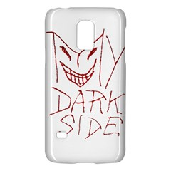 My Dark Side Typographic Design Samsung Galaxy S5 Mini Hardshell Case