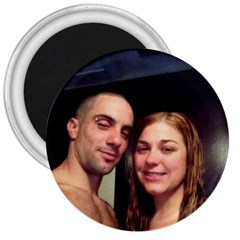 Christine&rob 3  Button Magnet