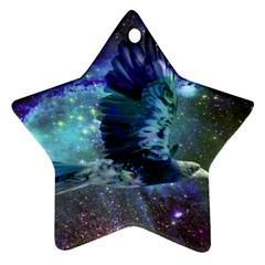 Catch A Falling Star Star Ornament (Two Sides)