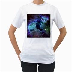 Catch A Falling Star Women s T Shirt (white)