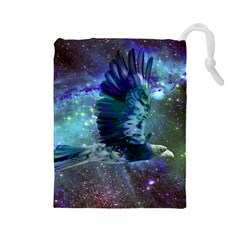 Catch A Falling Star Drawstring Pouch (Large)