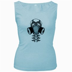 7 Gates Graffix Women s Tank Top (baby Blue)