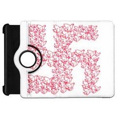 Swastika With Birds Of Peace Symbol Kindle Fire HD Flip 360 Case