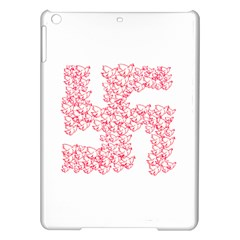 Swastika With Birds Of Peace Symbol Apple Ipad Air Hardshell Case
