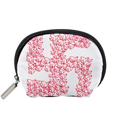 Swastika With Birds Of Peace Symbol Accessory Pouch (Small)