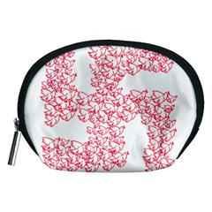 Swastika With Birds Of Peace Symbol Accessory Pouch (medium)