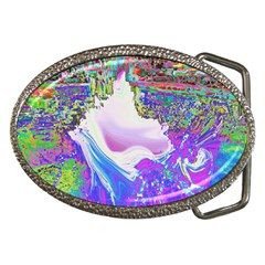Splash1 Belt Buckle (Oval)