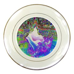 Splash1 Porcelain Display Plate
