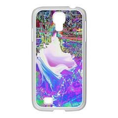 Splash1 Samsung GALAXY S4 I9500/ I9505 Case (White)