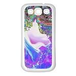 Splash1 Samsung Galaxy S3 Back Case (White) Front