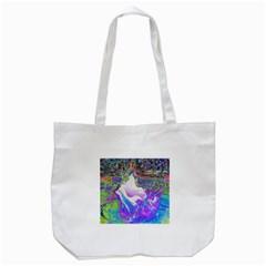 Splash1 Tote Bag (White)