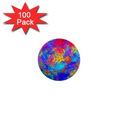 Colour Chaos  1  Mini Button (100 pack)