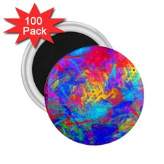 Colour Chaos  2 25  Button Magnet (100 Pack)