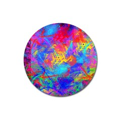 Colour Chaos  Magnet 3  (Round)