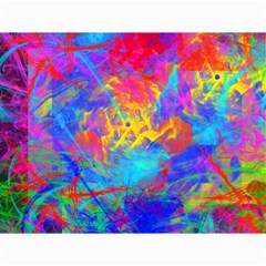 Colour Chaos  Canvas 18  x 24  (Unframed)