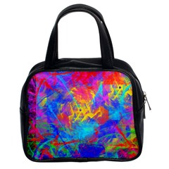 Colour Chaos  Classic Handbag (two Sides)