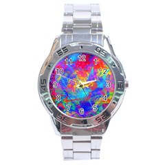 Colour Chaos  Stainless Steel Watch