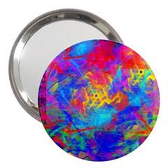 Colour Chaos  3  Handbag Mirror