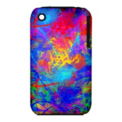 Colour Chaos  Apple Iphone 3g/3gs Hardshell Case (pc+silicone)