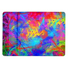 Colour Chaos  Samsung Galaxy Tab 10 1  P7500 Flip Case