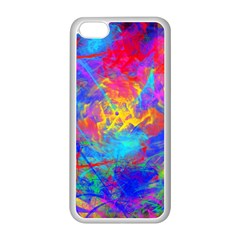 Colour Chaos  Apple iPhone 5C Seamless Case (White)