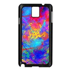 Colour Chaos  Samsung Galaxy Note 3 N9005 Case (Black)