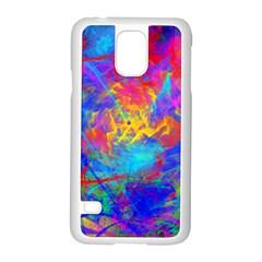 Colour Chaos  Samsung Galaxy S5 Case (White)