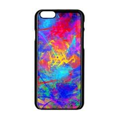 Colour Chaos  Apple iPhone 6 Black Enamel Case