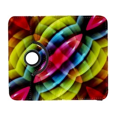 Multicolored Abstract Pattern Print Samsung Galaxy S  III Flip 360 Case