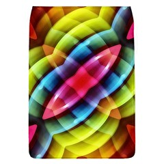 Multicolored Abstract Pattern Print Removable Flap Cover (Large)
