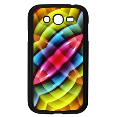 Multicolored Abstract Pattern Print Samsung Galaxy Grand DUOS I9082 Case (Black)