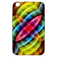 Multicolored Abstract Pattern Print Samsung Galaxy Tab 3 (8 ) T3100 Hardshell Case