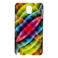 Multicolored Abstract Pattern Print Samsung Galaxy Note 3 N9005 Hardshell Case