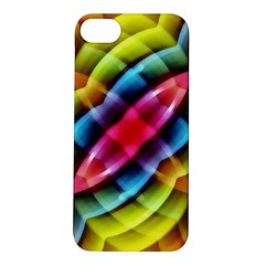 Multicolored Abstract Pattern Print Apple iPhone 5S Hardshell Case