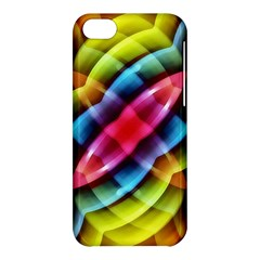 Multicolored Abstract Pattern Print Apple Iphone 5c Hardshell Case